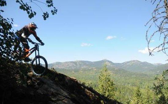 Rossland, Canadá: Kootenay Mountain Biking