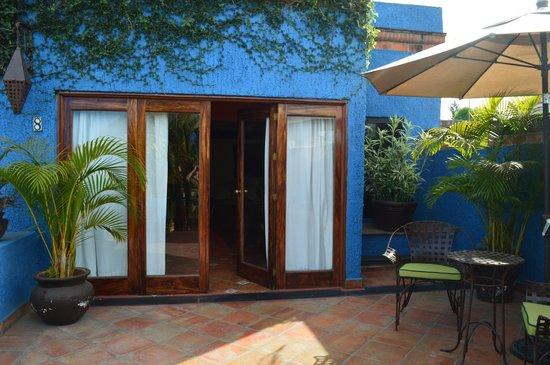 La Villa del Ensueno Hotel: our mini suite
