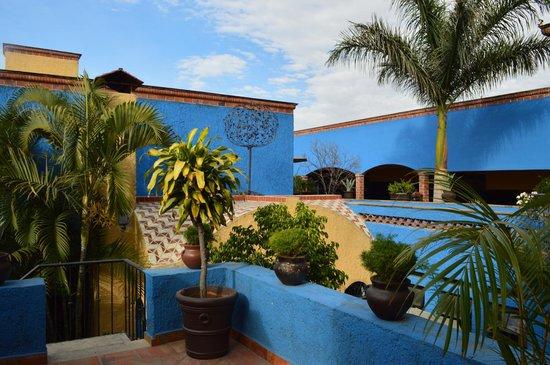 La Villa del Ensueno Hotel: beautiful grounds