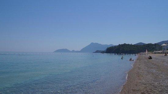 Euphoria Tekirova Hotel: Пляж