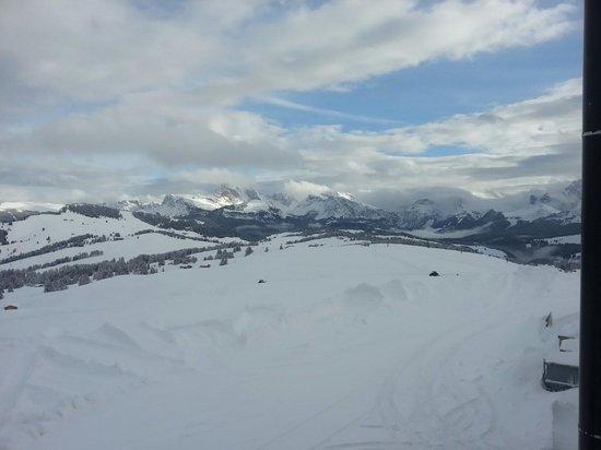 Alpenhotel Panorama: Panorama dalla camera