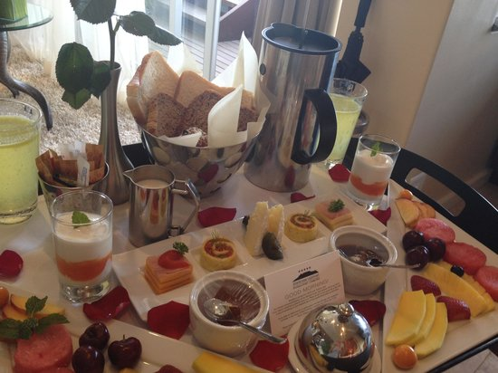 Atlanticview Cape Town Boutique Hotel: Breakfast Tray