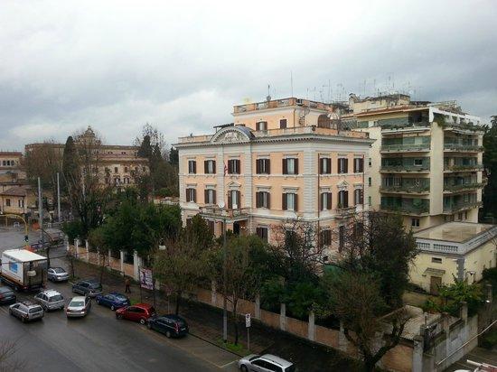 Hotel Santa Costanza: Aussicht