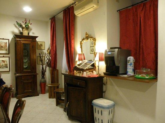 A Casa di Serena a San Pietro: sala colazione
