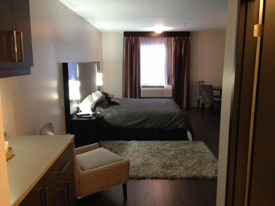 Hotel De La Borealie : hard to heat the room