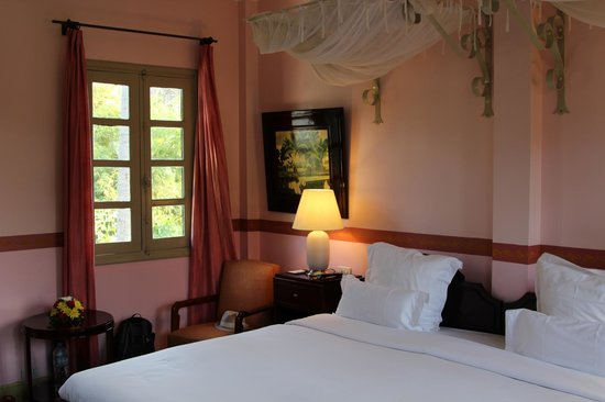 Villa Maly: Our very nice room 1st floor near the pool