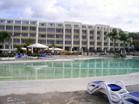 db Seabank Resort + Spa: View of hotel from pool.