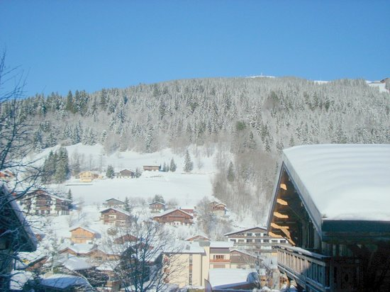 Chalet Perdu : View from front of chalet