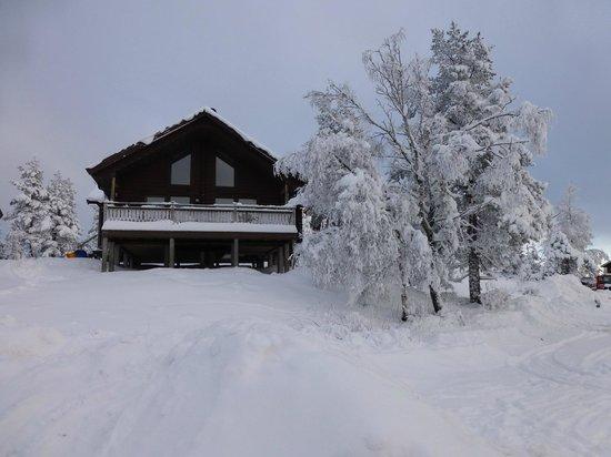 Overbyn, Suecia: Hovfjällstoppens Stugby, stuga 1
