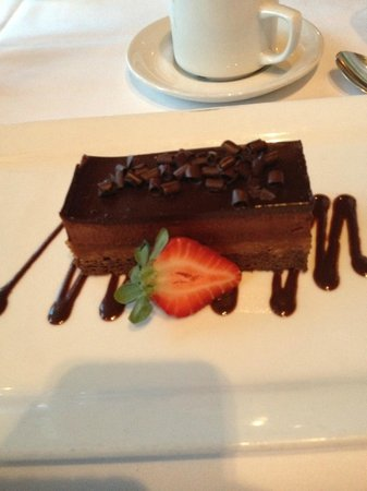 The Fish Market : Chocolate Peanut Butter Mousse Torte