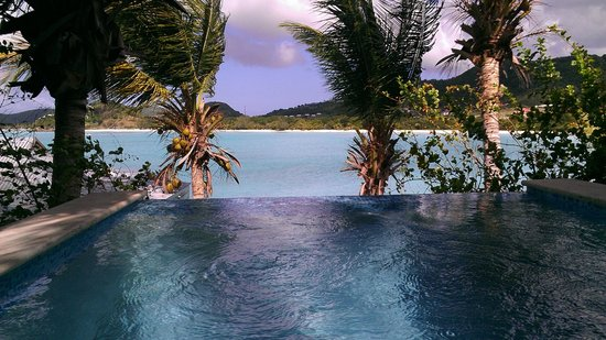 Cocobay Resort: View from our private plunge pool