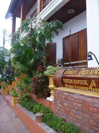 Namsok Hotel: Entrée