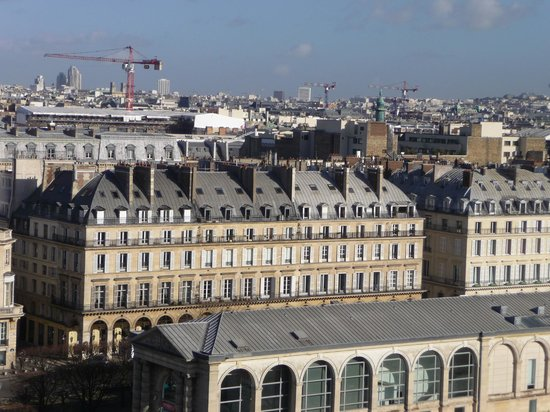 The Westin Paris - Vendome: View of the hotel from the Paris Roue