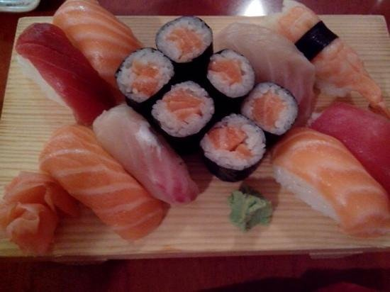 sushis et makis picture of le patio chambery tripadvisor. Black Bedroom Furniture Sets. Home Design Ideas