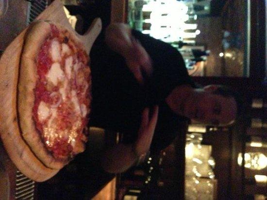 Brando's Citi Cucina: Pizza was Superb! Nice & Crunchy, Not Soggy.
