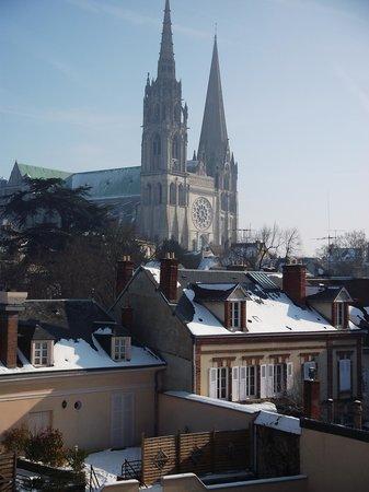 Cathédrale de Chartres : Catedral medieval de Chartres, França