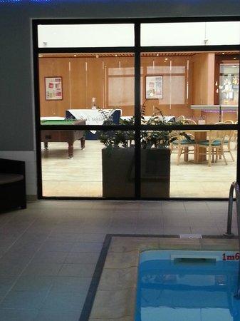 Hotel Mercure de Blois Centre : Billard