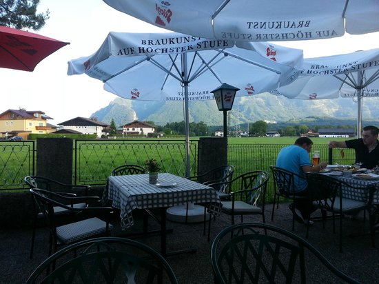 Hotel Restaurant Laschenskyhof: Beer Garden