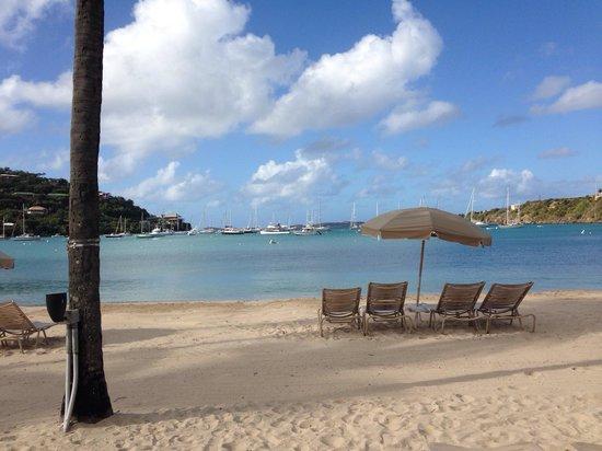 The Westin St. John Resort Villas: Hotel beach