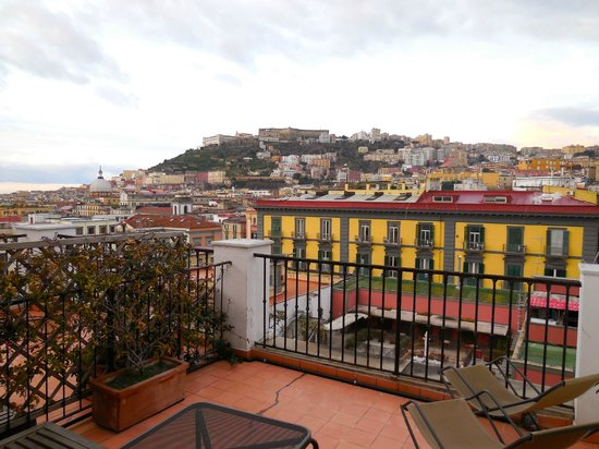Hotel Piazza Bellini: View from Patio, 5th Floor Room