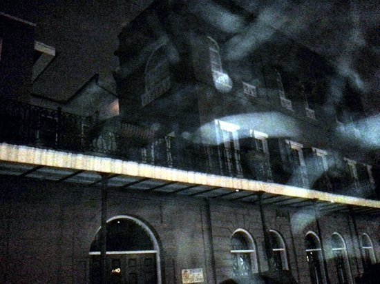 Witches Brew Tours: The house belonging to Delphine LaLaurie shows streaks of lights coming from the window?