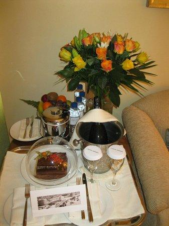 Le Royal Meridien Beach Resort & Spa: Birthday surprise