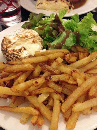Le coup de fourchette : Camembert rôti caramélisé