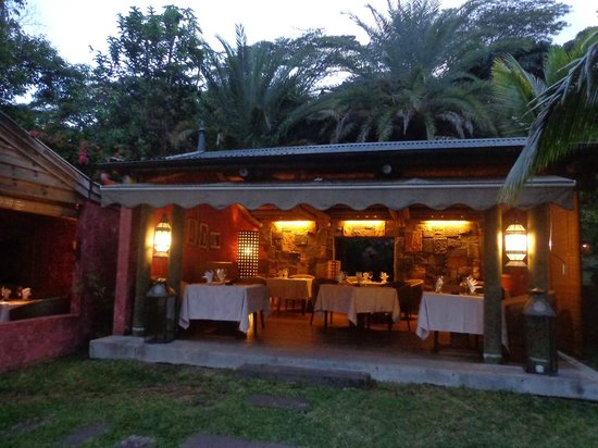 Lakaz Chamarel Exclusive Lodge: salle de restaurant