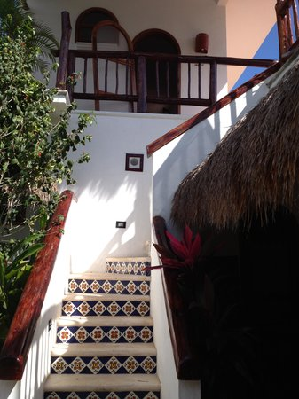 Posada Yum Kin: Stairs to My Room