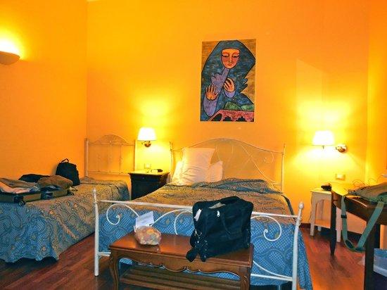 Ambasciatori Hotel: Our room