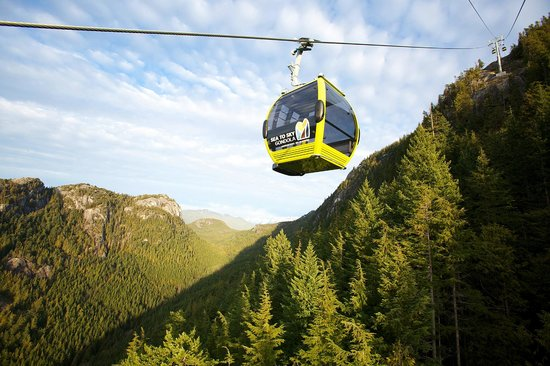 Squamish, Kanada: The Gondola Ride