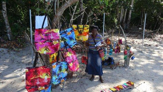 Bloody Bay: craft market
