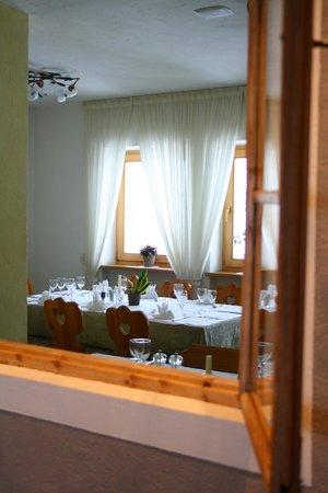 Pension Edelweiss: sala da pranzo
