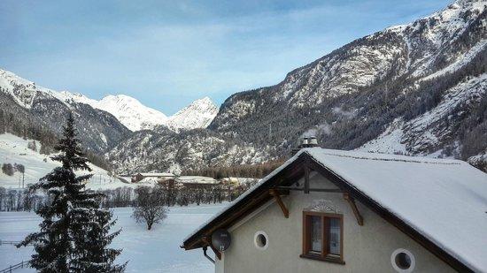 Hotel Crusch Alba: Вид из номера отеля