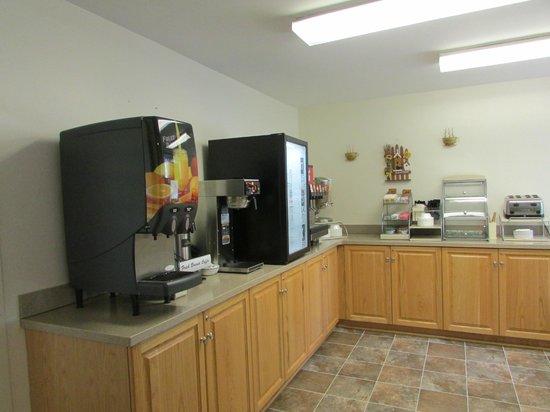 IHG Army Hotels on West Point (Bldg 785): Breakfast Area