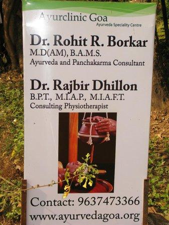 Ayur Clinic Goa: Uma clinica a visitar. recomendo*****