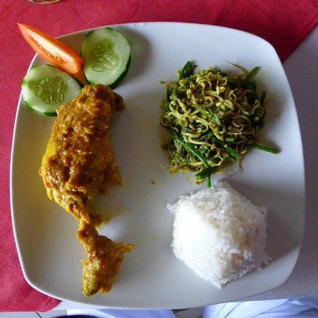Villa Pelangi Sidemen : Diner