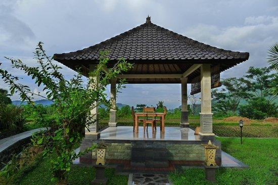 Villa Pelangi Sidemen : Pavillon individuel si l'on veut diner en amoureux
