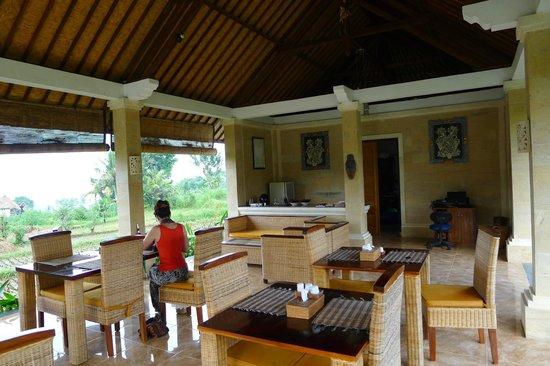 Villa Pelangi Sidemen: Le restaurant