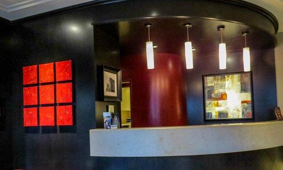St. Regis Hotel Lobby Art, photo by Mike Keenan