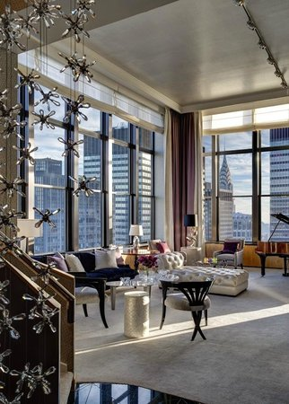 The Towers at Lotte New York Palace: The Jewel Suite by Martin Katz Living Room