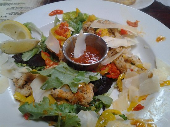 Sunset Grill at Little Harbor: calamari