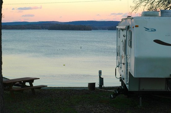 Perryville, AR: RV Park View