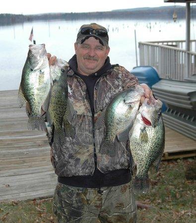 Harris Brake Lake Resort: Great Fishing