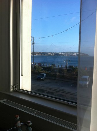 The Claremont Hotel: Stunning sea view