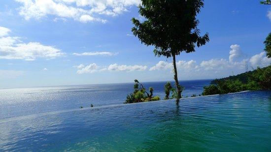 Bedulu Resort: Vue magnifique sur le détroit de Lombok
