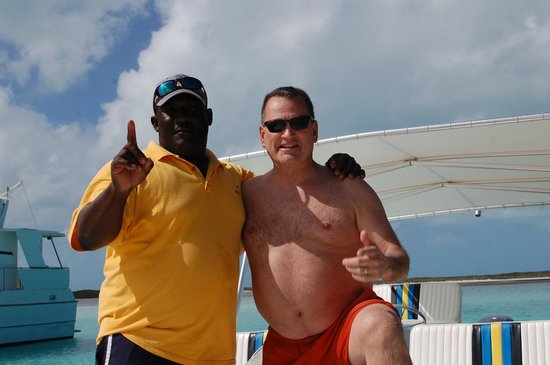 Exuma Water Tours: Captain Andrew & Greg