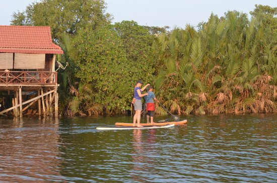 Ganesha Kampot Eco Guesthouse and More : Different activities can be arranged