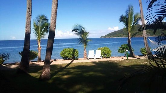 Malolo Island Resort : Morning view from our Bure