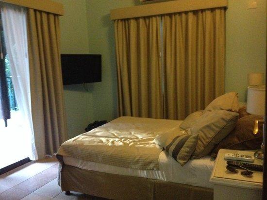 Iguazu Jungle Lodge : Excelente iluminación en las habitaciones.